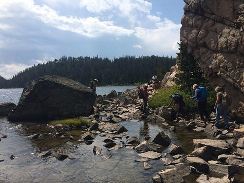 Beartooth hike fishing