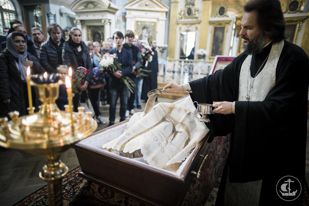 6 сентября 2017, Отпевание Гелиана Михайловича Прохорова / 6 September 2017, The funeral service for Gelian Mikhailovich Prokhorov