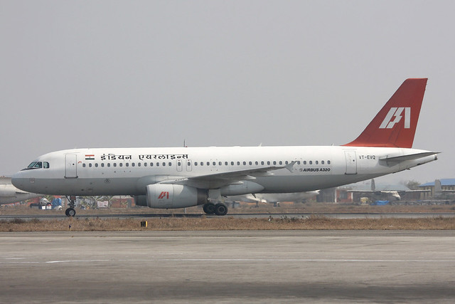 VT-EVQ Airbus A.320-231 Indian Airlines