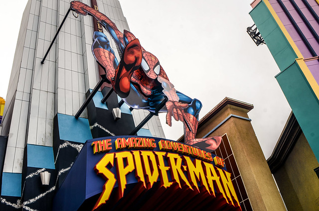 Spiderman sign IoA