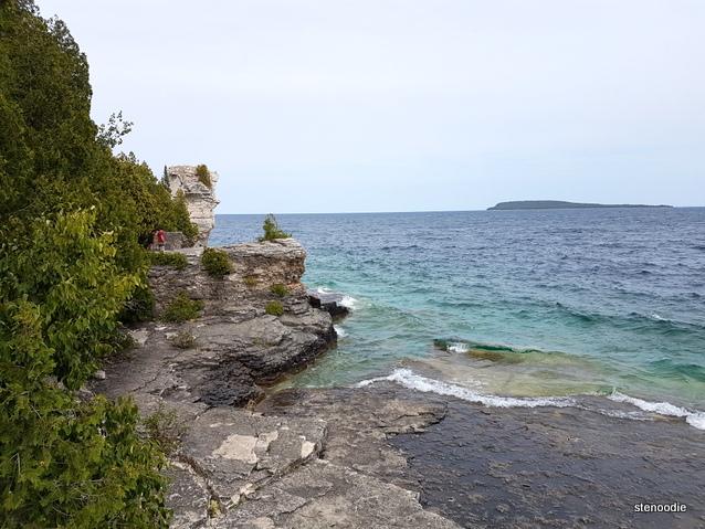 Flowerpot Island views