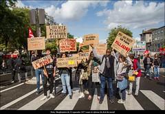 Paris, manifestation du 12 septembre 2017 contre la réforme du droit travail