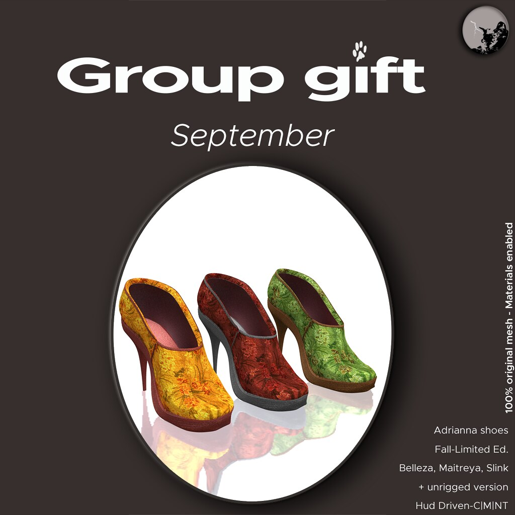 Adrianna Shoes Fall edition (limited) @ September groupgift - TeleportHub.com Live!