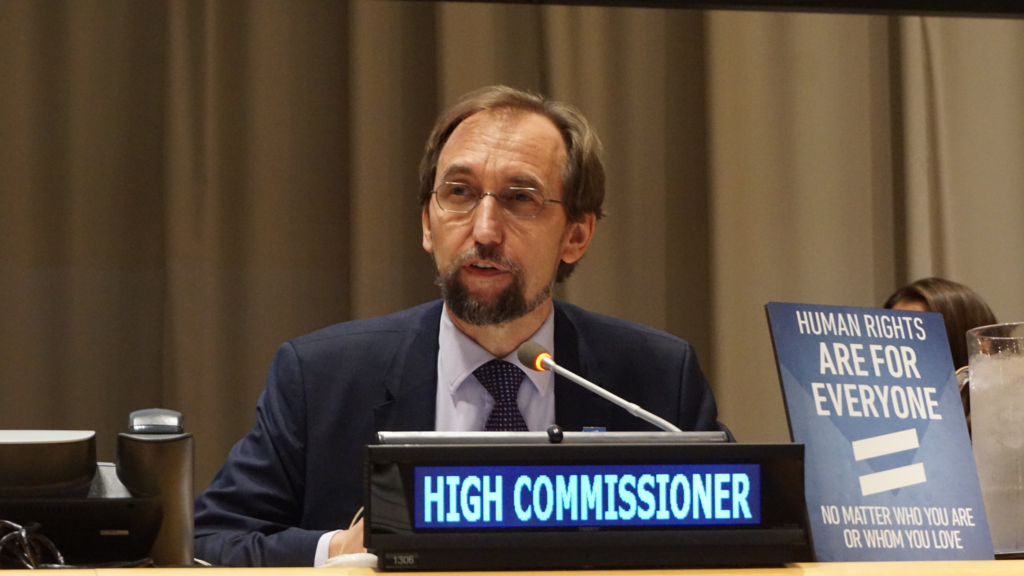 Zeid Ra'ad Al Hussein, High Commissioner for Human Rights