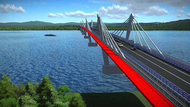 AI_16_Comprehensive BIM Strategy Helps Long Jian Road & Bridge Co., Ltd. Deliver CNY 2.4 Billion Amur River Bridge Connecting Russia and China (2)