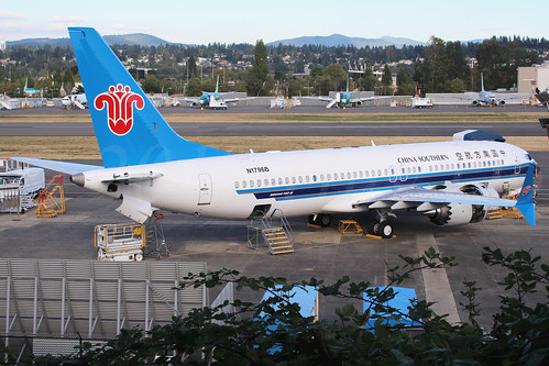 Boeing 737 MAX 8 China Southern Airlines N1796B LN6569