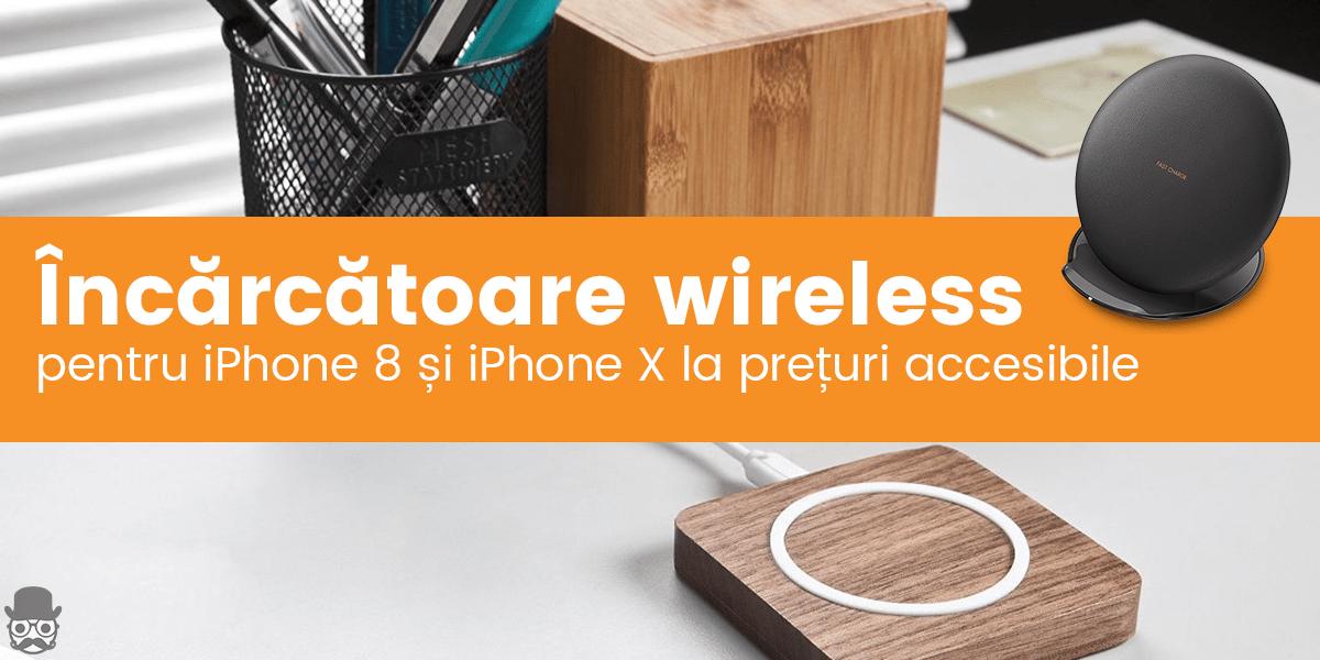 Incarcator wireless iPhone