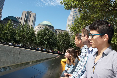 Class of 2018 Visit to National 9/11 Memorial and Museum