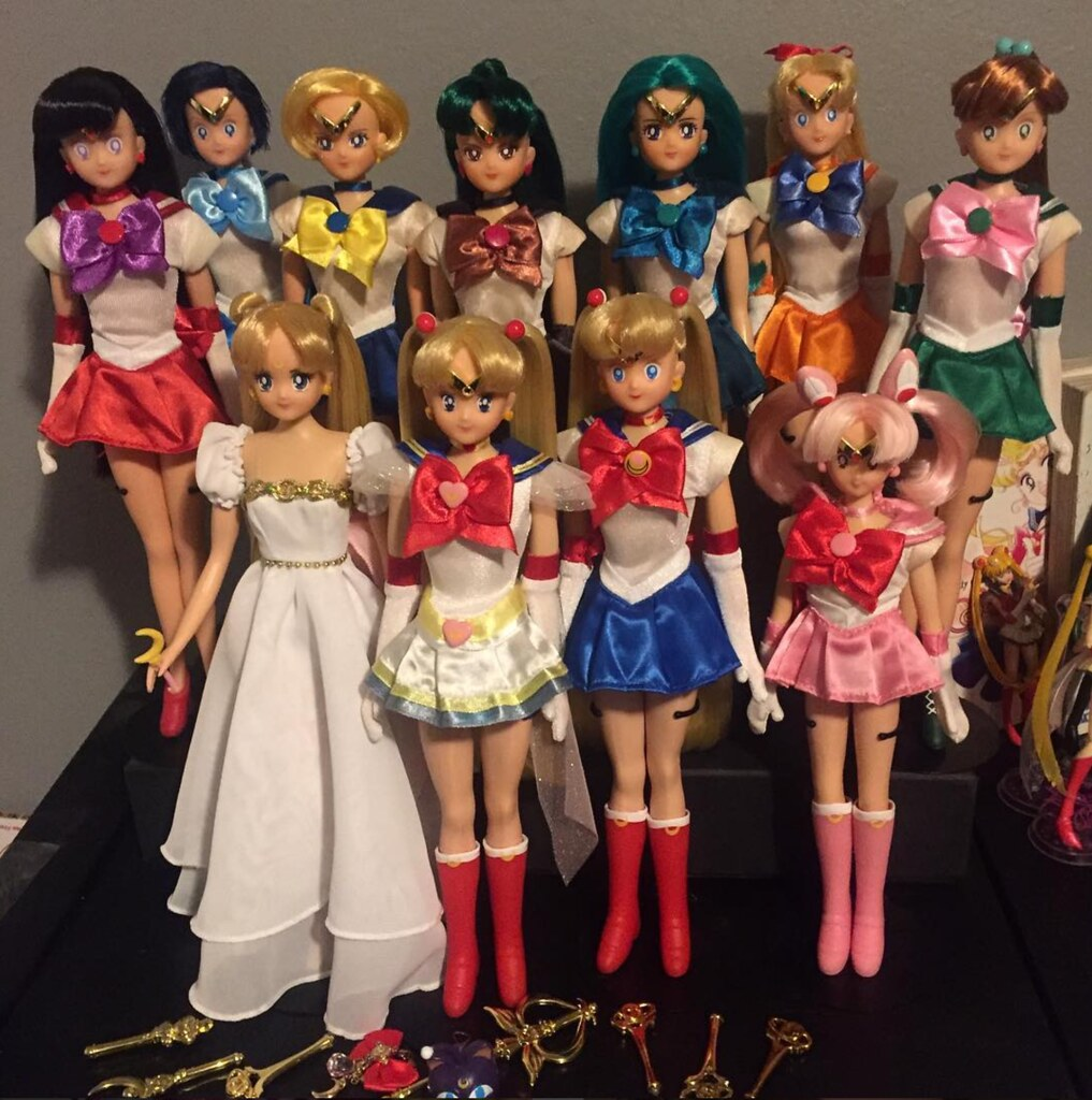 Sailor Moon Doll Collection Irwin America My 2001 Irwin