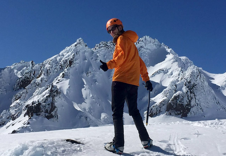 Auswanderer Interview Neuseeland: Kaja am Mount Ruapehu