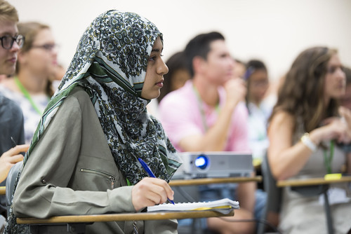 LAWA students in lecture series