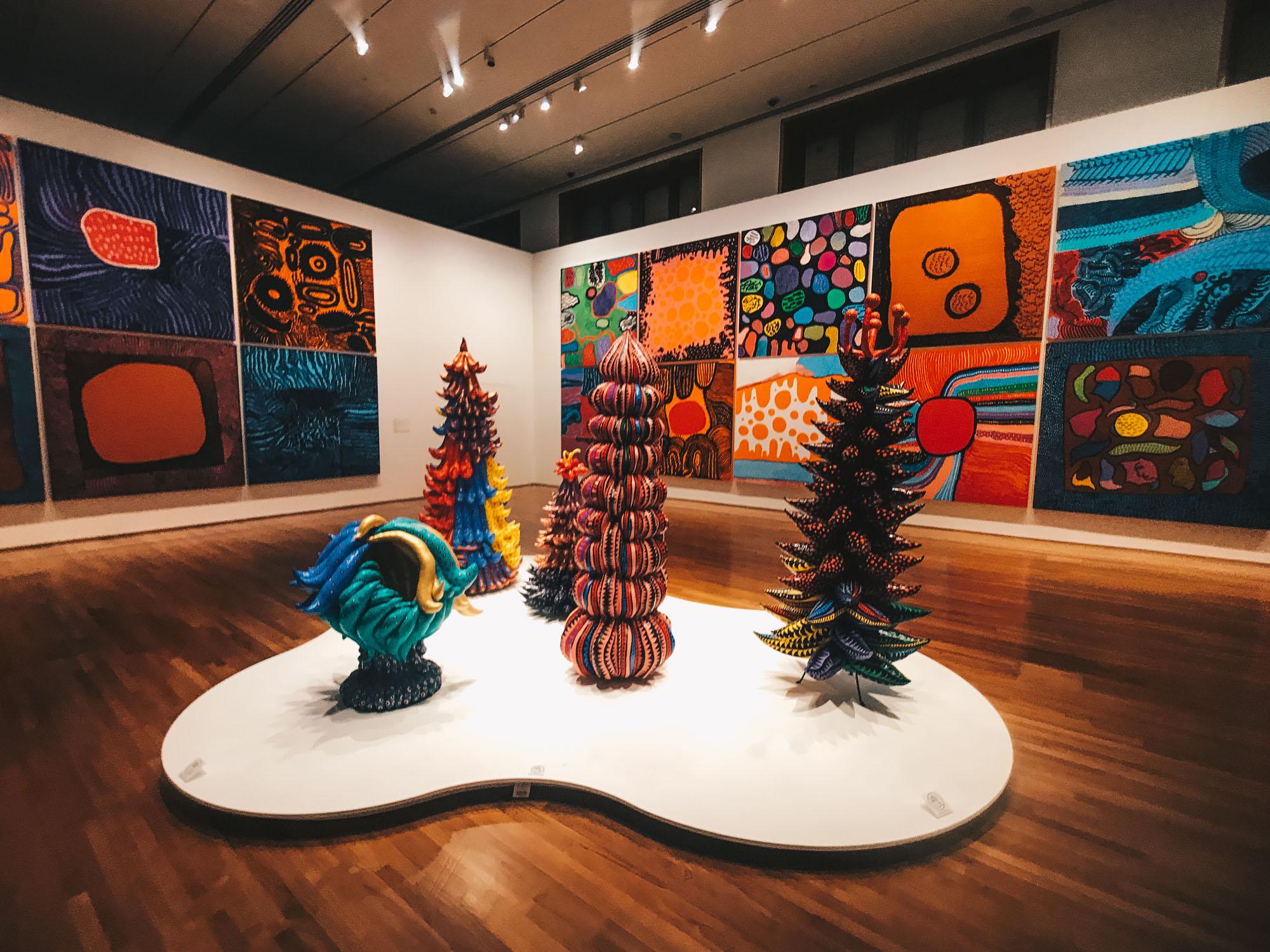 yayoi kusama exhibition singapore darrenbloggie-8