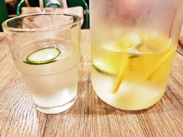 Water With Lemon & Lime