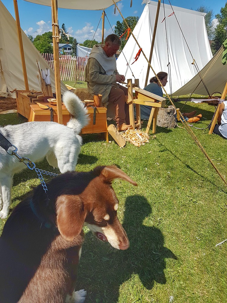Icelandic Festival Gimli Viking Village woodworking