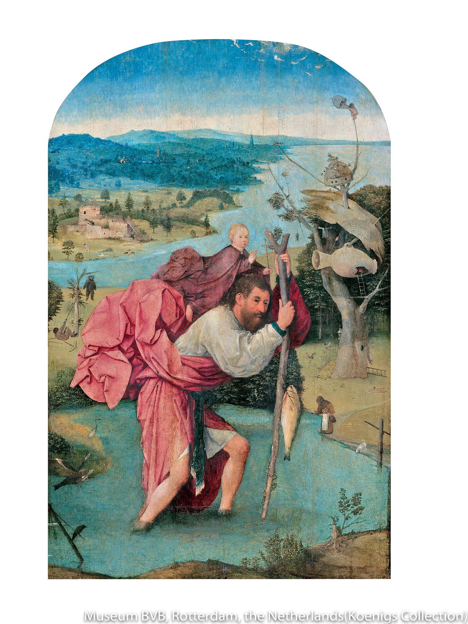 ヒエロニムス・ボス《聖クリストフォロス》(1500年頃)