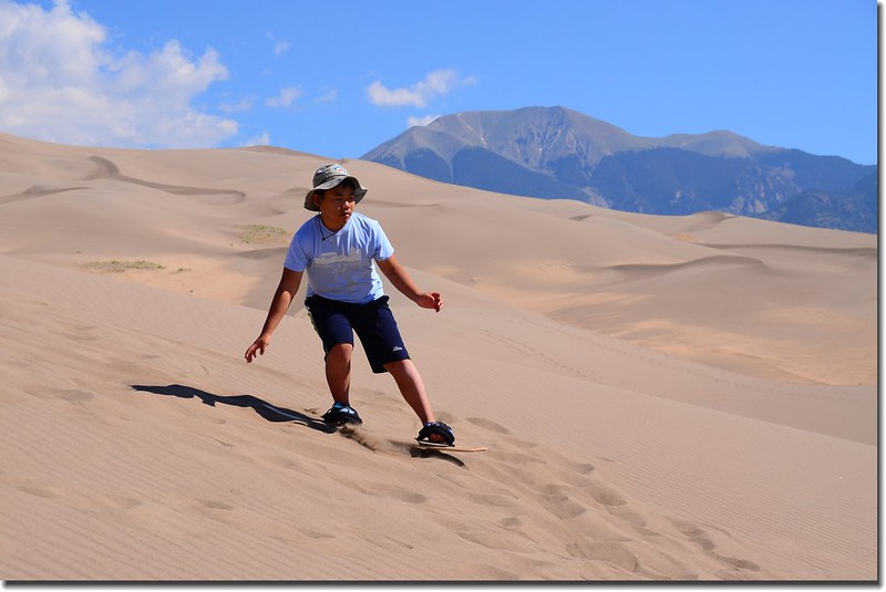 Sledding at Great Sand Dunes  (33)