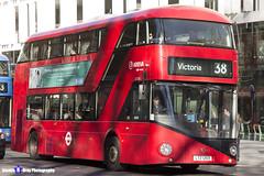 Wrightbus NRM NBFL - LTZ 1203 - LT203 - Victoria 38 - Arriva - London 2017 - Steven Gray - IMG_6835