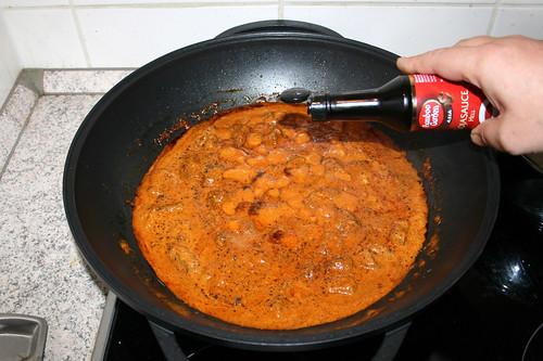 45 - Mit Sojasauce abschmecken / Taste with soy sauce