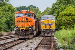 BNSF 5795 | GE ES44AC | NS Memphis District