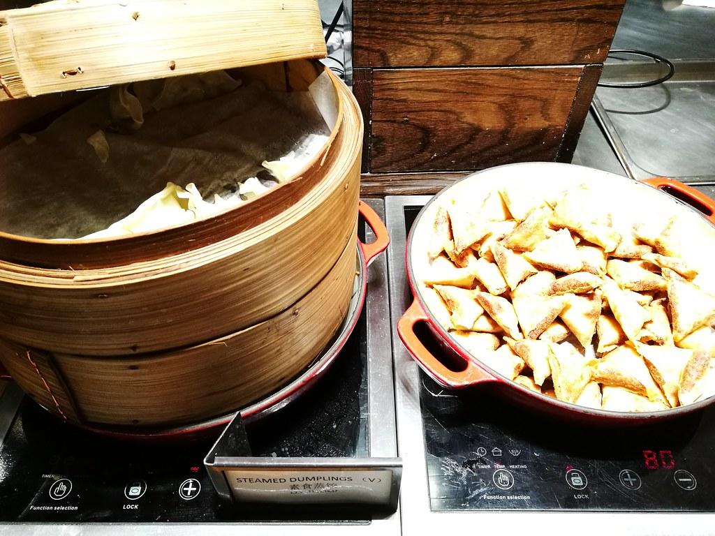 Samosa and dumpling