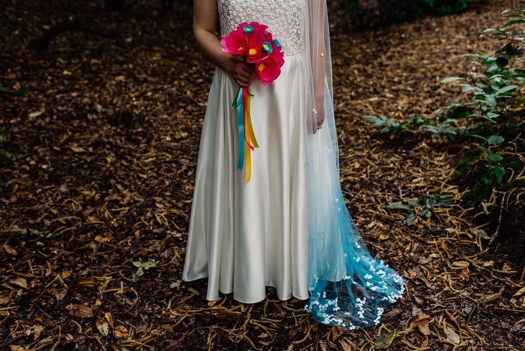 wedding day - veil