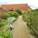 The walled garden and 13th century wheat barn, Cressing Temple Barns, Essex