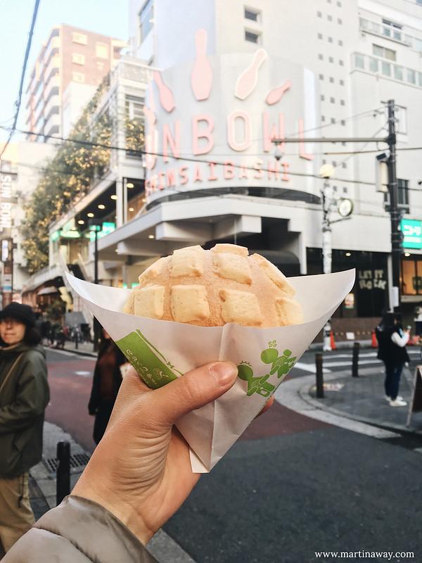cosa mangiare in giappone: Melonpan a America-mura