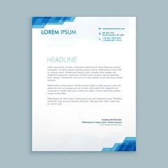 corporate letterhead presentation