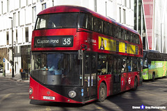 Wrightbus NRM NBFL - LTZ 1186 - LT186 - Clapton Pond 38 - Arriva - London 2017 - Steven Gray - IMG_6769