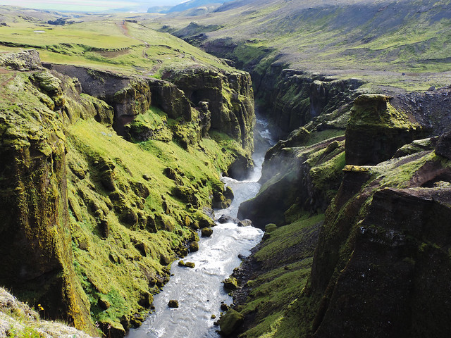 Breathtaking Canyons In Iceland: Valley of Skógar, Southern Iceland