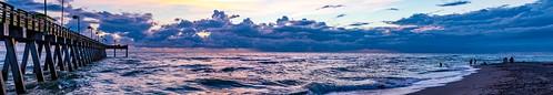 sunset venicepier venice florida unitedstates us