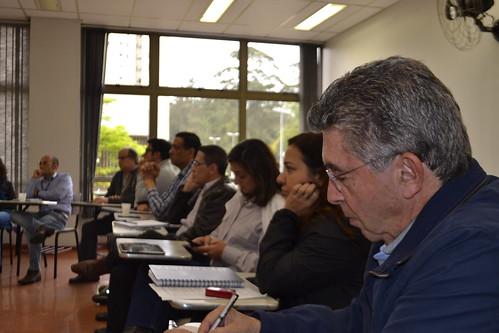 Reuniões da Reitoria com diretores de Escolas e coordenadores de cursos