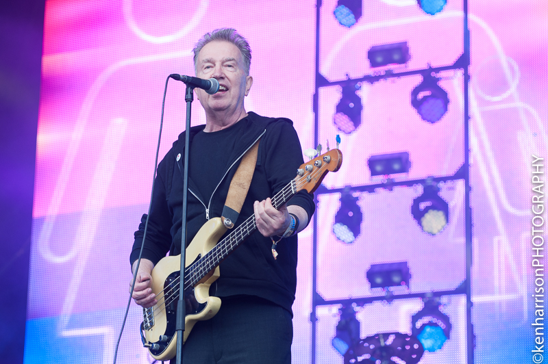 05th August, 2017. Tom Robinson at Rewind North, Macclesfield, UK