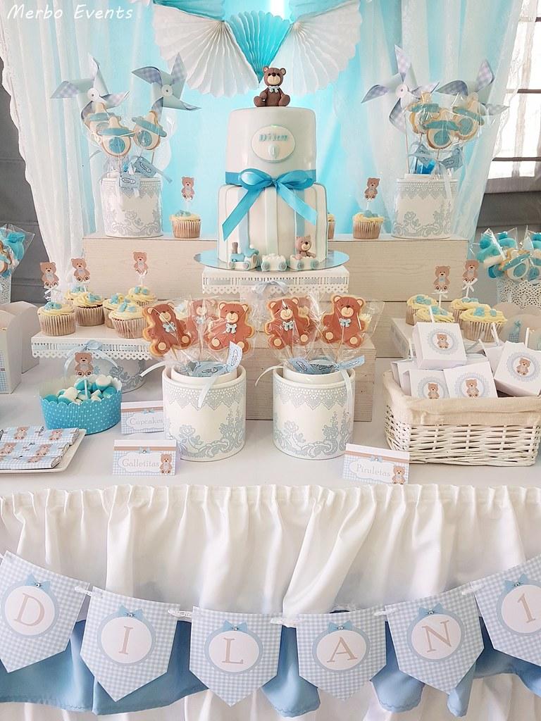 mesa dulce Cumpleaños Osito Merbo Events