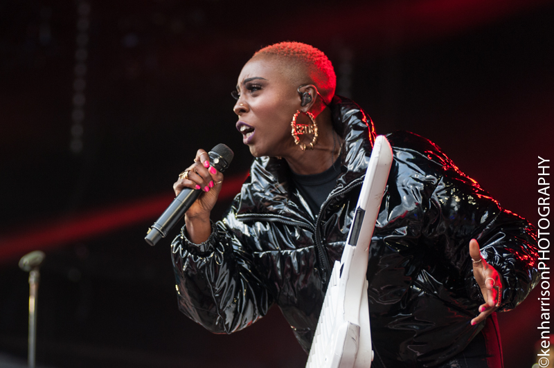 Laura Mvula plays Festival No.6, Portmeirion, Wales, UK on Sunday 10th September, 2017.