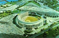 New York, Shea Stadium, Stylized Aerial View