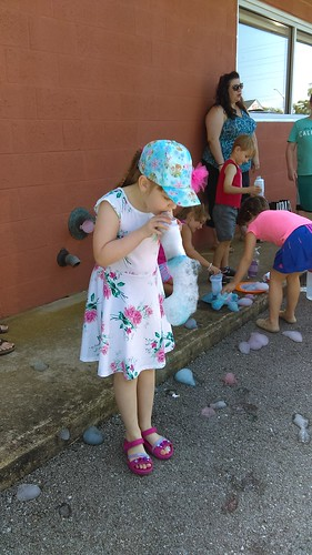 Calvert Library posted a photo:Kids made bubble snakes at the Southern Branch!