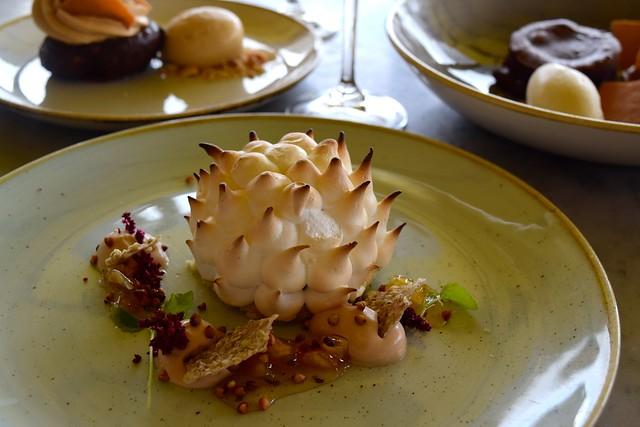 Baked Alaska at Duck & Waffle | www.rachelphipps.com @rachelphipps