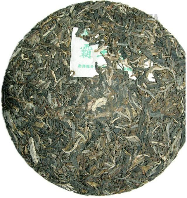 Free Shipping 2010 ChenSheng Ba Wang Green Cake 400g China YunNan MengHai Chinese Puer Puerh Raw Tea Sheng Cha Price Range $129.99-329.99