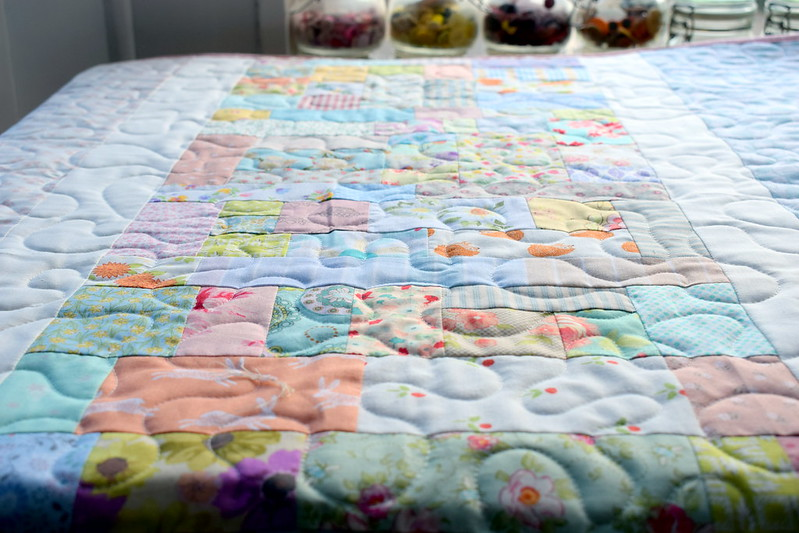 Improv Vintage Quilt (Quilt Now Sept17)