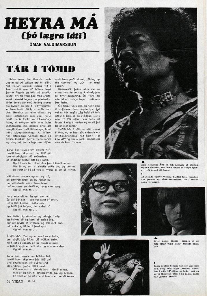 VIKAN (ICELAND) NOVEMBER 26, 1970
