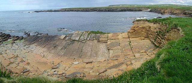 Rocks and Bay at Birsay, Orkney