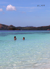 BANOL BEACH, near Coron, Calamianes Group of Islands, Palawan, Philippines