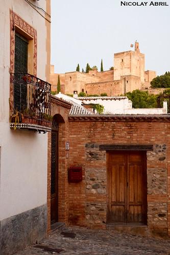 Streets of Albayzín, Granada