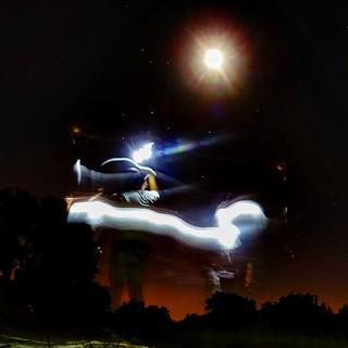 Fly tho the moon  #moon #laluna