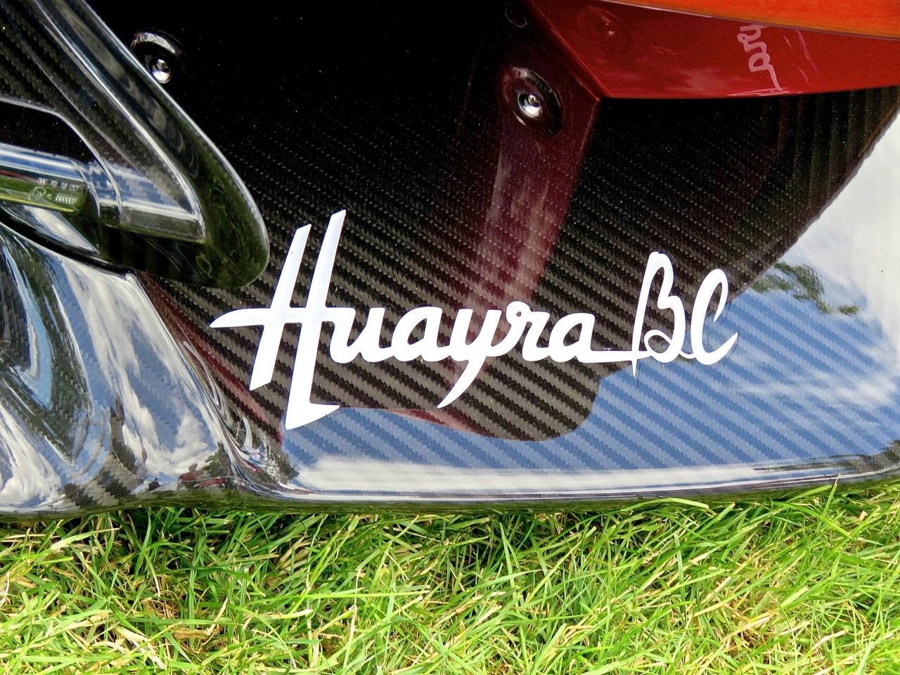 Pagani Huayra BC Greenwich 9