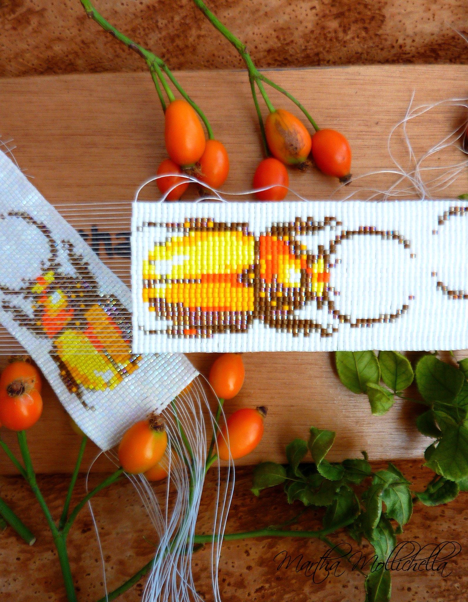 Gioielli a telaio by Martha Mollichella coleottero lamprima adolphinae