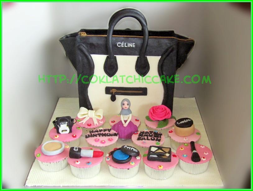 cake branded bag