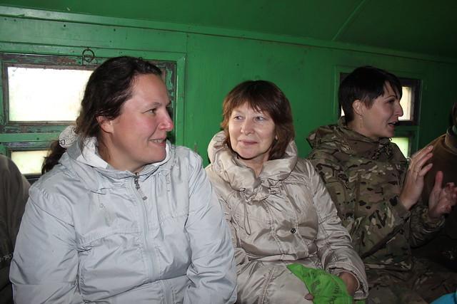 Maria_Noskova, in the field