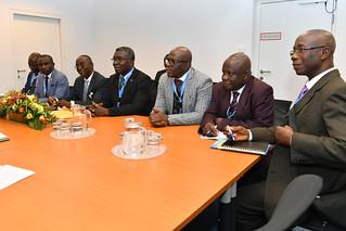 Bilateral Meeting with Kwabena Frimpong-Boateng (01116477)